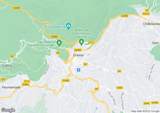 Map for Grasse, Alpes-Maritimes, 06130, France