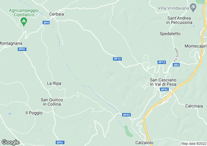 Map for Italy - Tuscany, Florence, San Casciano Val di Pesa