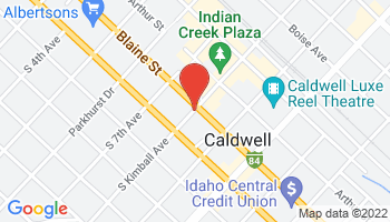 Caldwell Reel Theatre Map