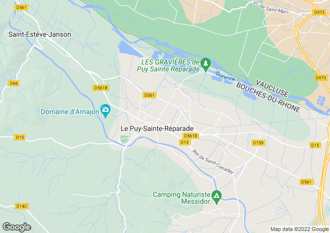 Map for le-puy-ste-reparade, Bouches-du-Rhône, France