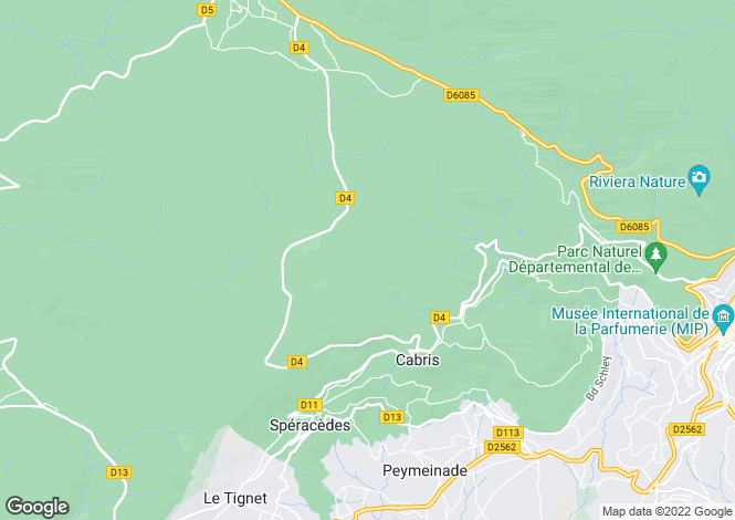 Map for Cabris, 06530, France