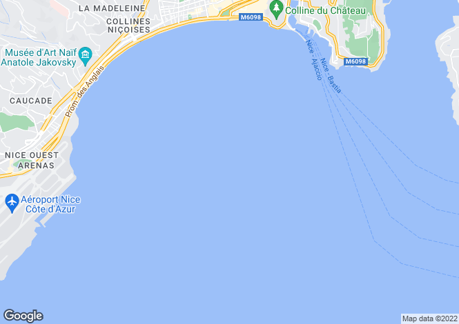 Map for Menton Garavan, France