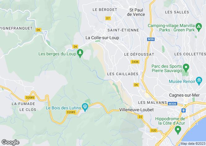 Map for Carros, Provence-Alpes-Cote dAzur, France