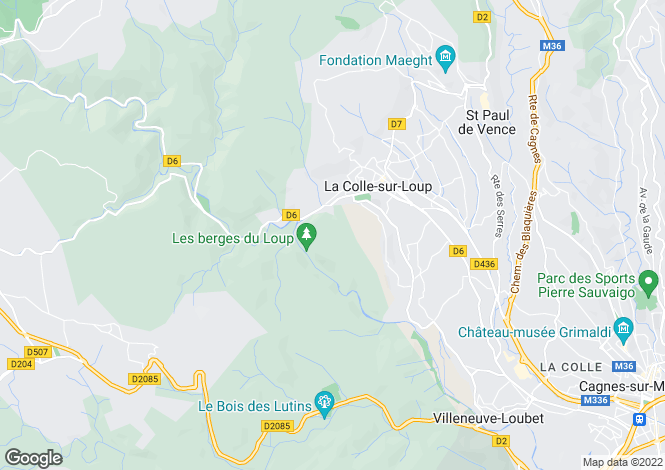 Map for Le Broc, Provence-Alpes-Cote dAzur, France