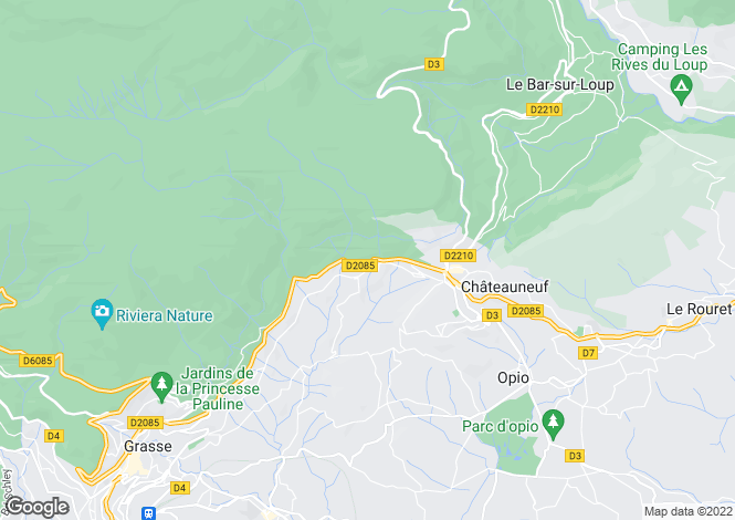 Map for Magagnosc, Alpes-Maritimes, 06520, France