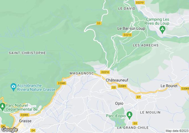 Map for Les Lucioles, Tourettes Sur Loup, French Riviera