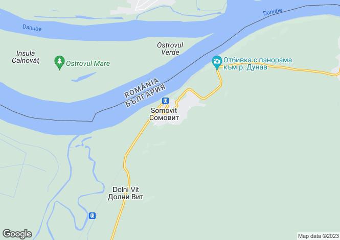 Map for Somovit, Pleven