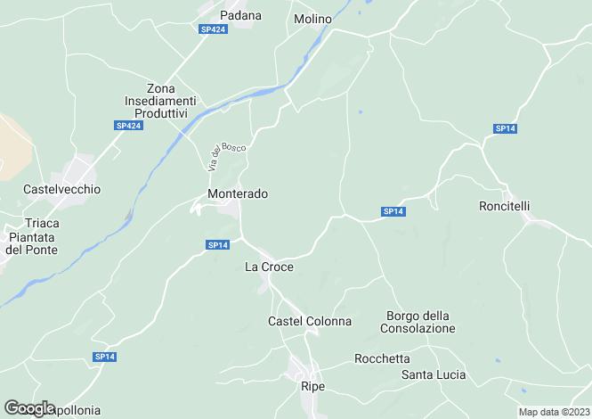 Map for Le Marche, Ancona, Monterado