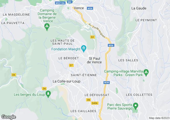 Map for SAINT PAUL RESIDENTIAL