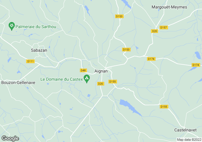 Map for Aignan, Midi-Pyrenees, 32290, France