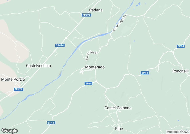 Map for Monterado, VIA MADONNA DEL PIANO