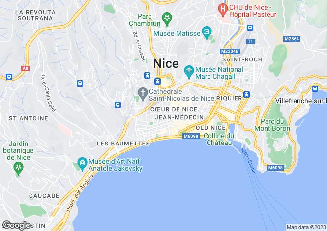 Map for Near Victor-Hugo, Nice