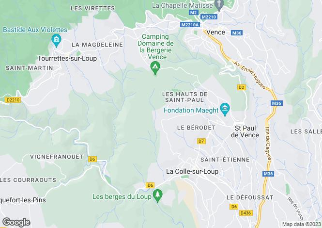 Map for Gilette, Provence-Alpes-Cote dAzur, France