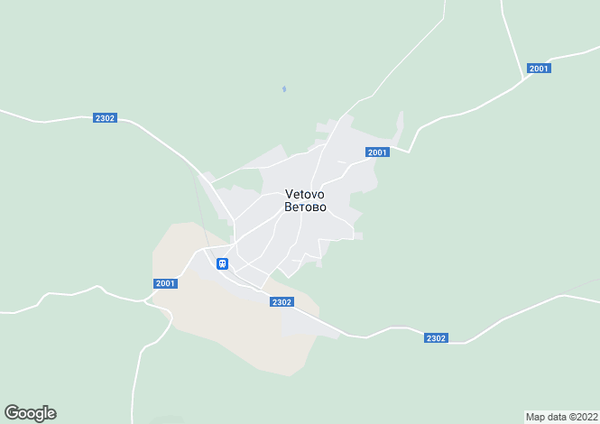 Map for Ruse, Vetovo