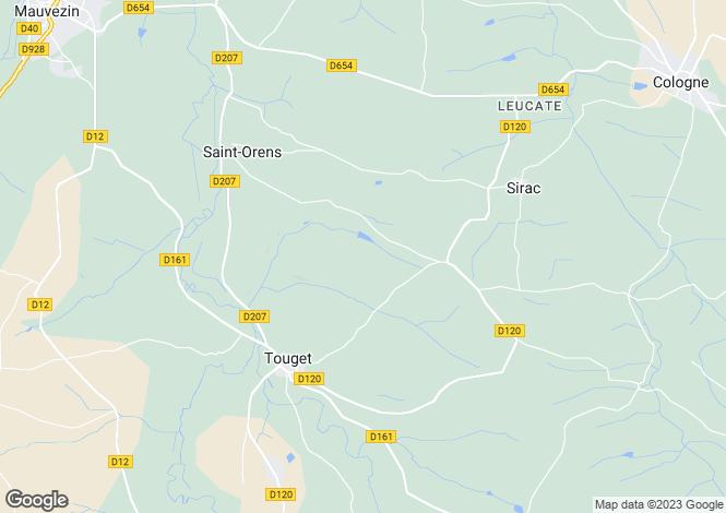 Map for Nr Dax, Landes