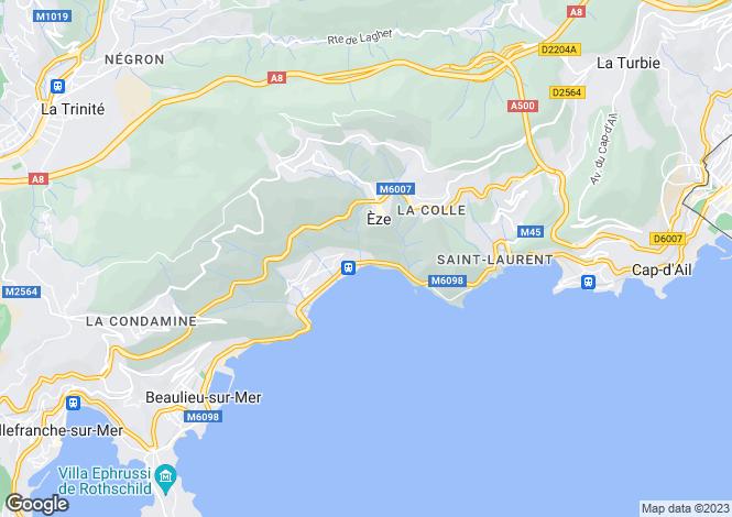 Map for Provence-Alps-Cote d`Azur, Alpes-Maritimes