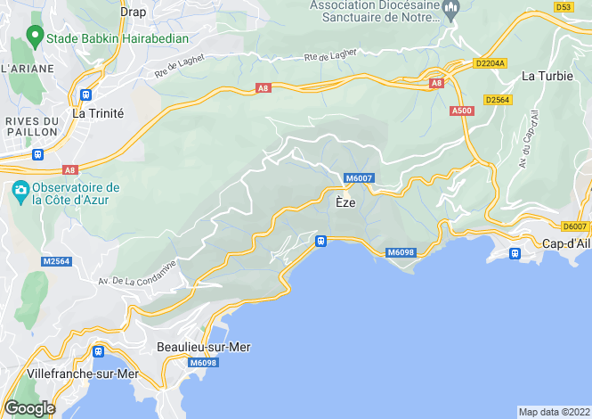 Map for Nice, Alpes-Maritimes, 06230, France