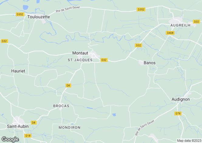 Map for Montaut, Dordogne, Aquitaine