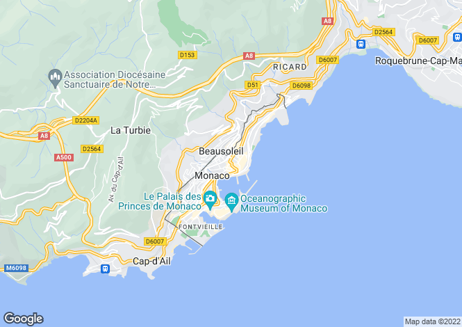 Map for Monte-Carlo