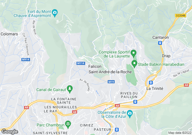 Map for Falicon, Alpes-Maritimes, 06950, France