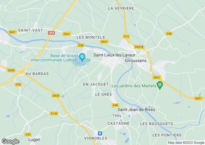 Map for Maison de Maitre With Outbuildings, Giroussens, Tarn