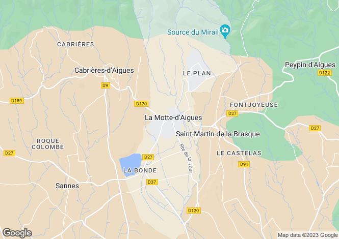 Map for France - Provence-Alps-Cote d`Azur, Vaucluse, Grambois