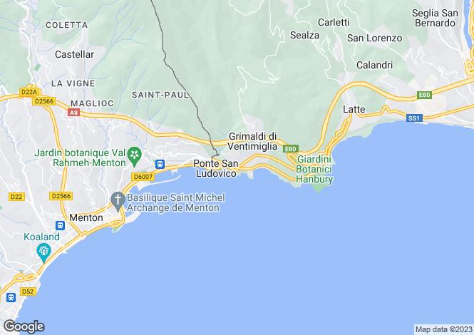 Map for Grimaldi, Imperia, Italy