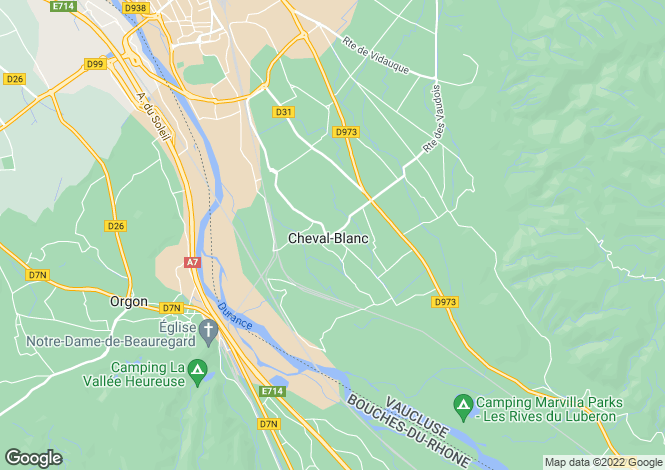 Map for 84460, Cheval Blanc, Vaucluse