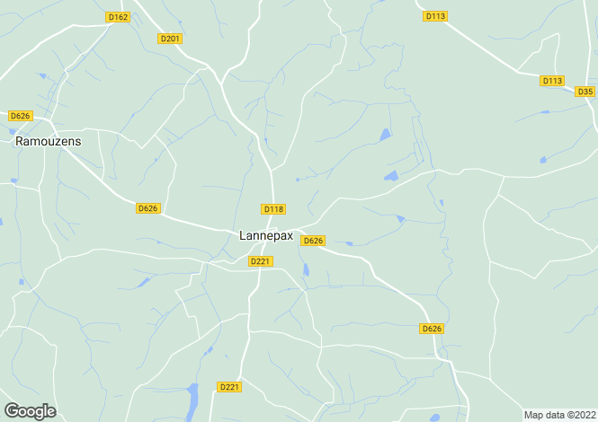 Map for lannepax, Gers, France