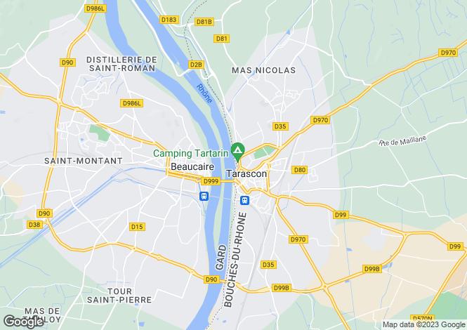 Map for Tarascon, 13150, France