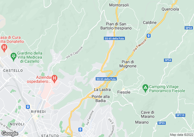 Map for Tuscany, Florence, Florence (Firenze)