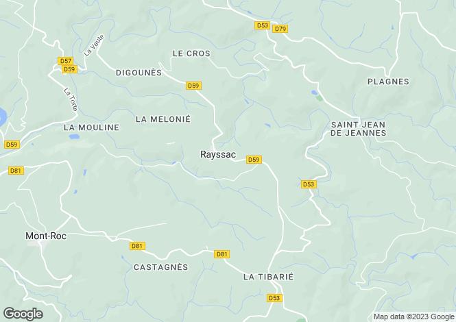 Map for rayssac, Tarn, France