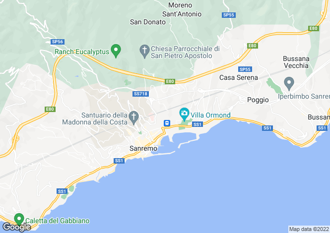 Map for Sanremo, 18038, Italy