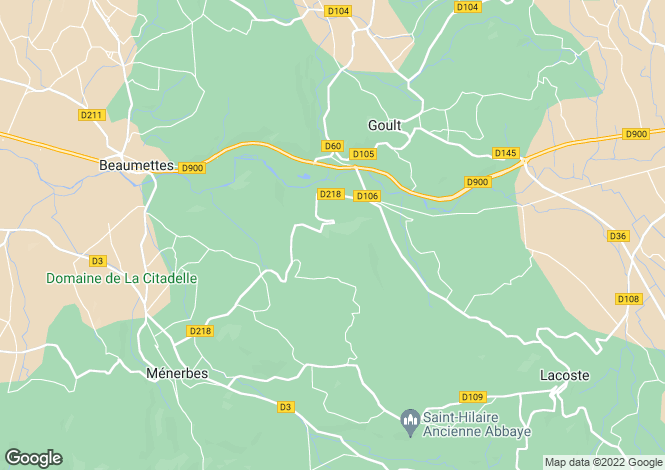 Map for Beaumettes, 84220, France