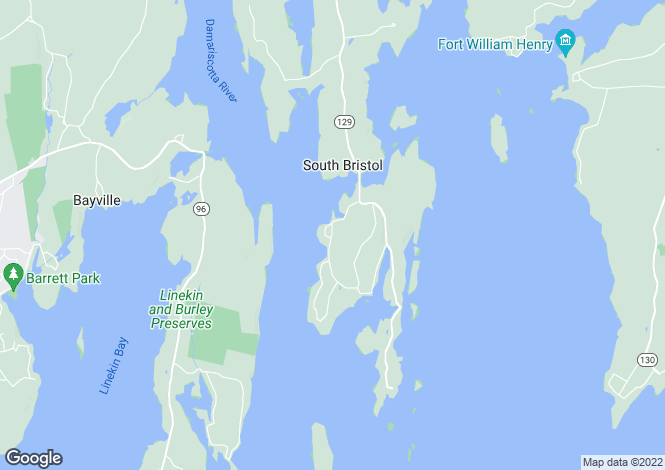 Map for USA - Maine