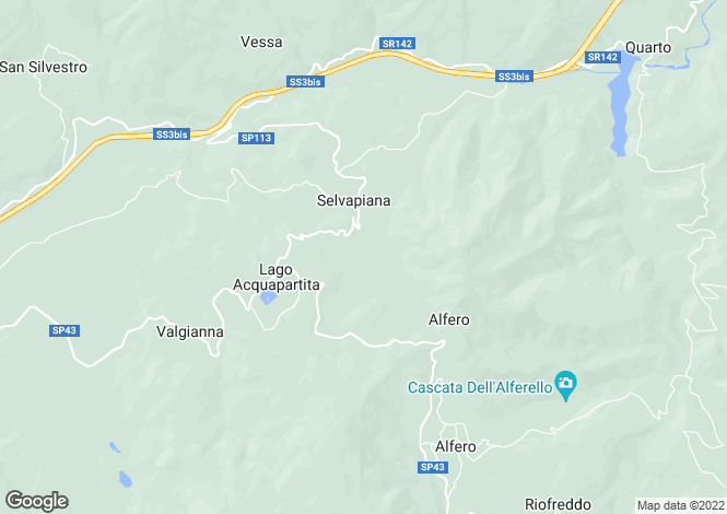 Map for Bagno di Romagna, Forlì-Cesena, Emilia-Romagna