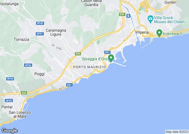 Map for Imperia, Imperia, Liguria