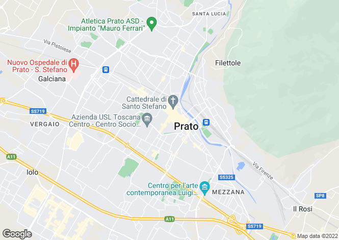 Map for Prato, Prato, Italy