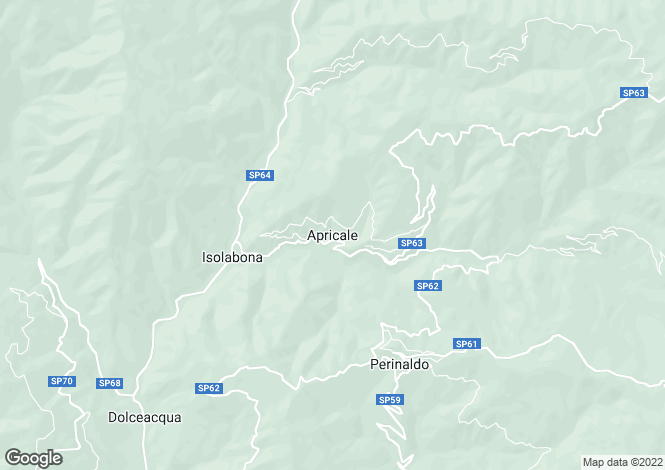 Map for Apricale,Italy