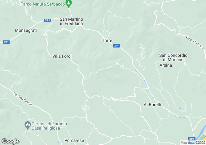 Map for Italy - Tuscany, Lucca, Lucca