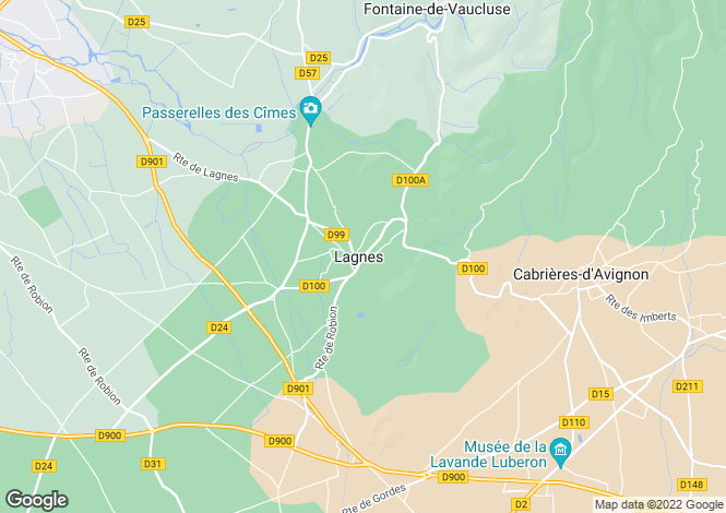 Map for 84800, Lagnes, Vaucluse