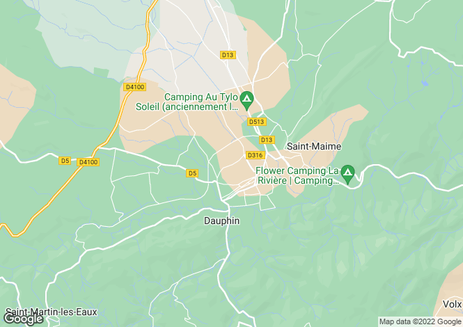 Map for DAUPHIN, 04300, France
