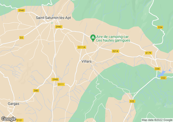 Map for 84400, Villars, Vaucluse