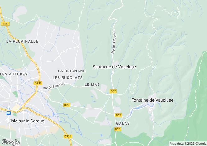 Map for 84800, L'Isle-sur-la-Sorgue, Vaucluse