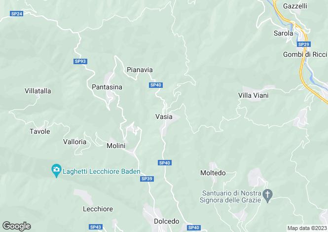 Map for Liguria, Imperia, Imperia