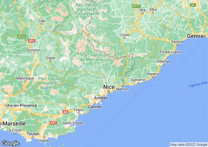 Map for Provence-Alpes-Cote d'Azur, Alpes-Maritimes, Le Golfe Juan