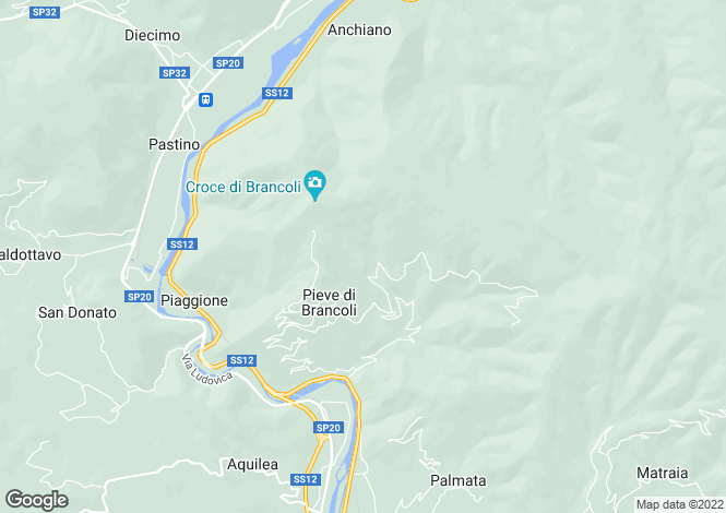Map for Lucca, Toscana, 046017, Italy