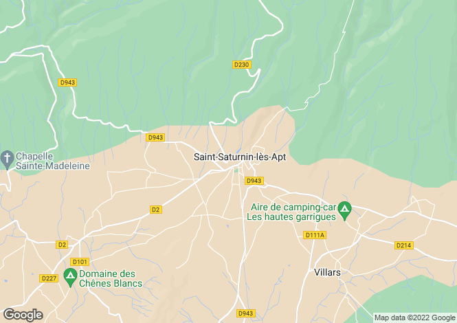 Map for saint-saturnin-les-apt, Vaucluse, France