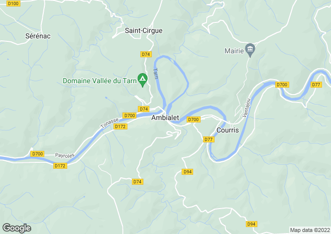 Map for Proche/Near Ambialet, Tarn