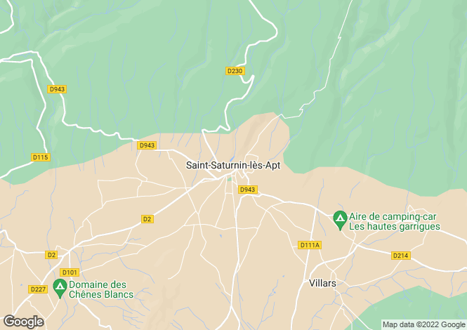 Map for Provence-Alps-Cote d`Azur, Vaucluse, St-Saturnin-lès-Apt